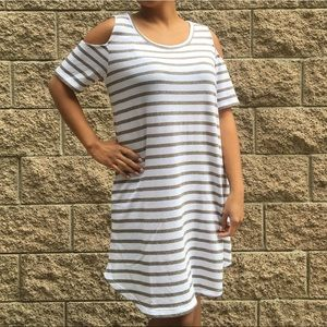 Soft Striped New York and Co Dress